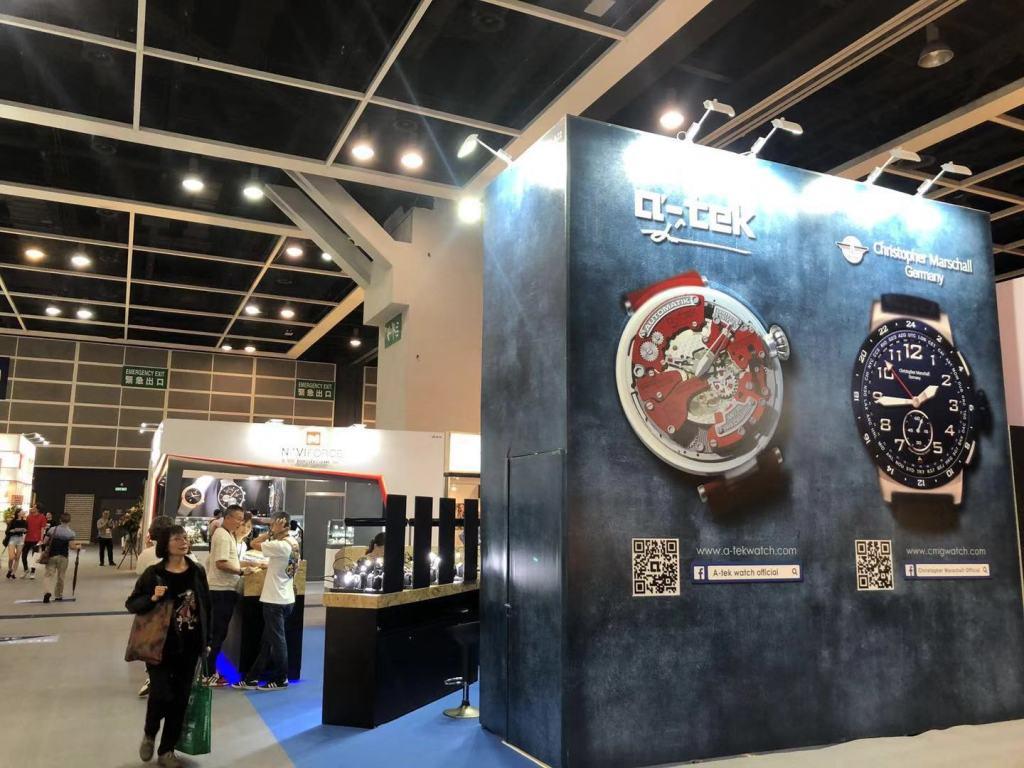 Hong Kong Watch and Clock Fair 2019